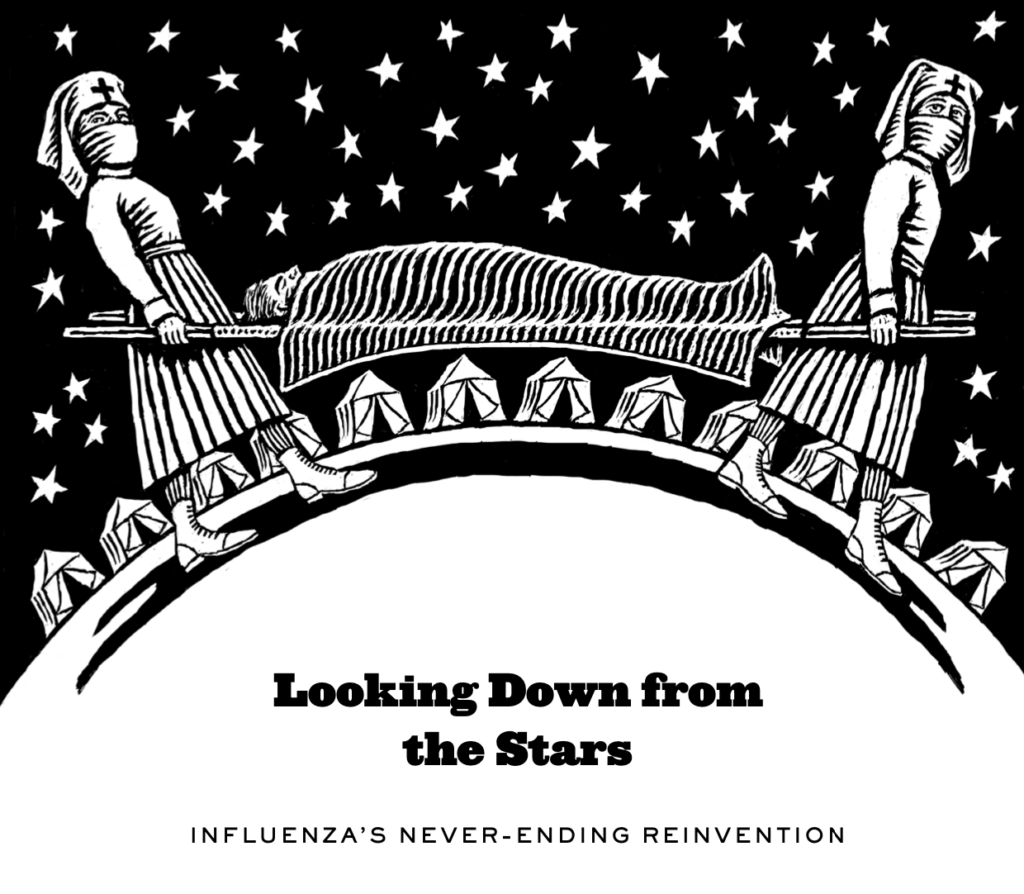 Looking Down from the Stars: Influenza